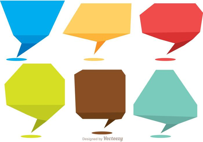 Shape clipart pack clip stock Chat Shape Icons Vector Pack - Download Free Vectors ... clip stock