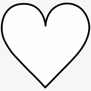 Shapes clipart black and white image freeuse library Shapes Clip Art Black And White - Heart Shape Clip Art ... image freeuse library