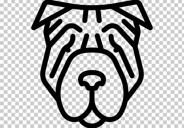 Shar clipart vector free library Shar Pei Computer Icons PNG, Clipart, Animal, Black, Black ... vector free library