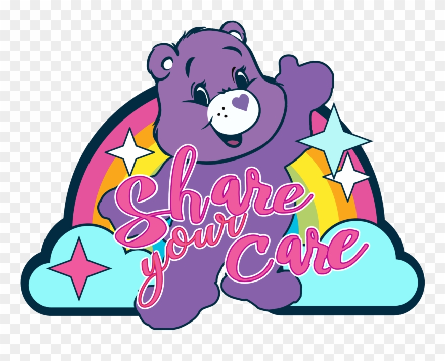 Share day clipart svg black and white library National Care Bears Share Your Care Day Patch Clipart ... svg black and white library