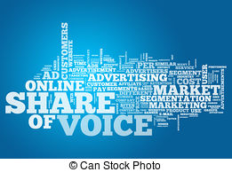 Share of voice clipart vector royalty free stock Word cloud share of voice Clipart and Stock Illustrations ... vector royalty free stock