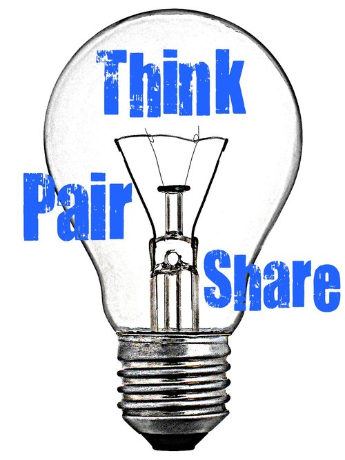 Share out clipart clip free library Think Pair Share | LOOK OUT FOR LEARNING clip free library