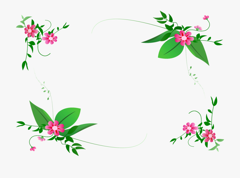 Sharefaith clipart free jpg stock Clipart Sharefaith - Transparent Floral Borders Png #325555 ... jpg stock