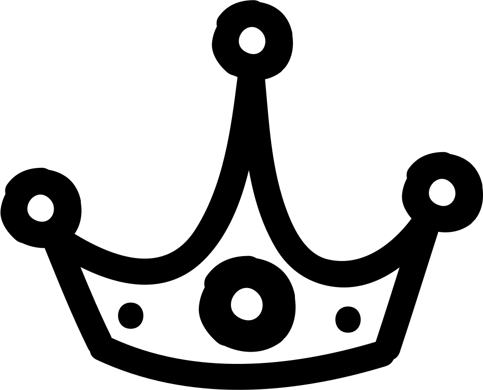 Shareware clipart crown jpg royalty free download Crown Hand Drawn Outline Svg Png Icon Free Download (#35289 ... jpg royalty free download