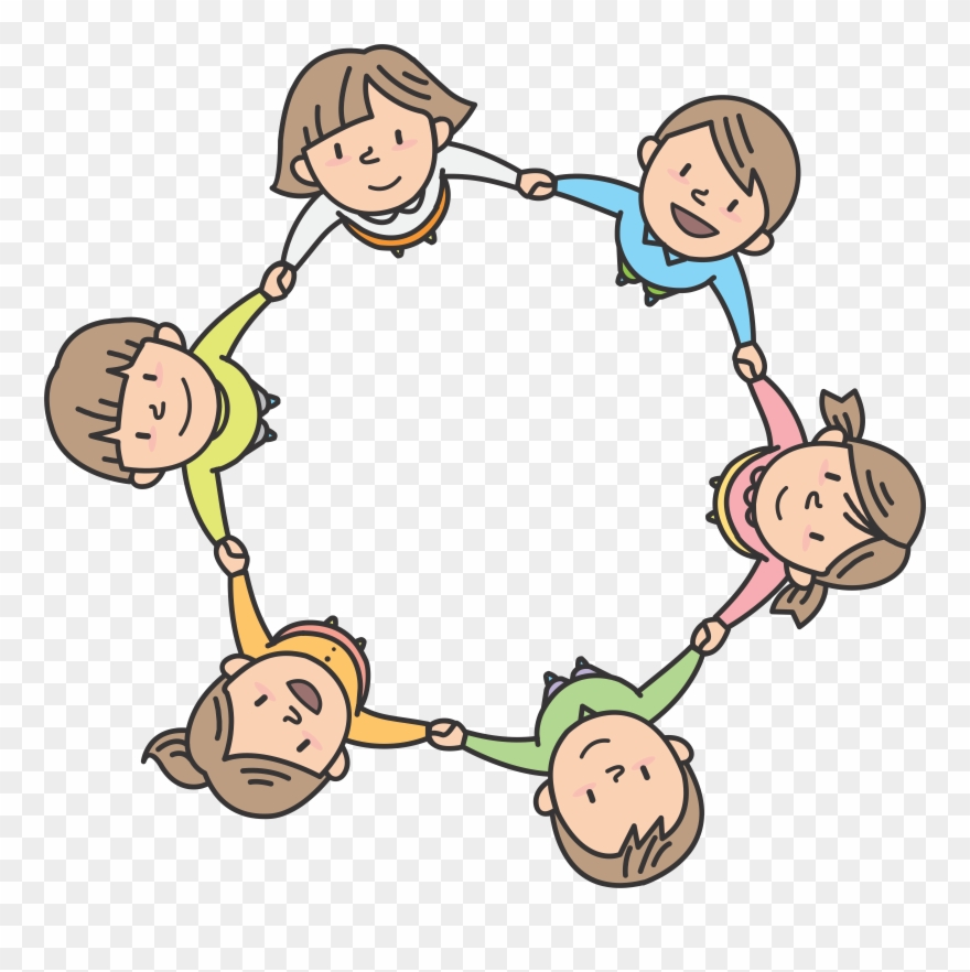 Sharing circle clipart vector freeuse library Children In Circle - Children Circle Clipart (#58967 ... vector freeuse library