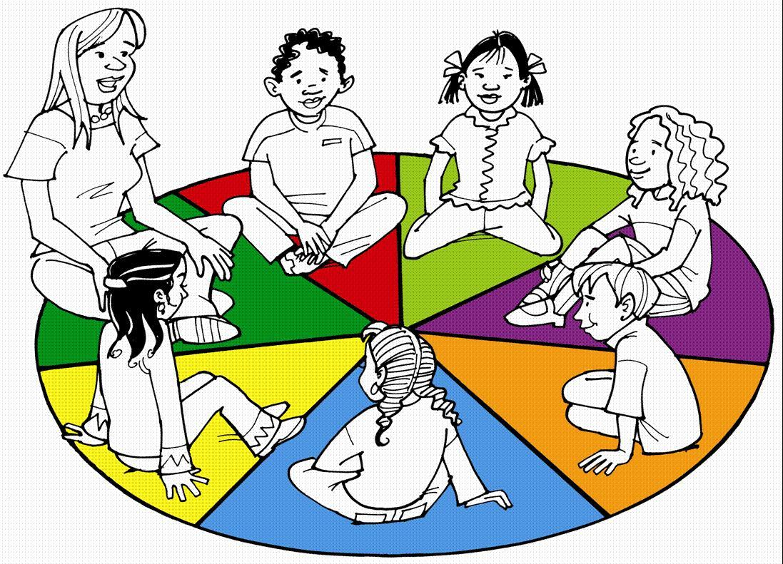 Sharing circle clipart transparent download Circle time children sitting in a circle clipart – Gclipart.com transparent download