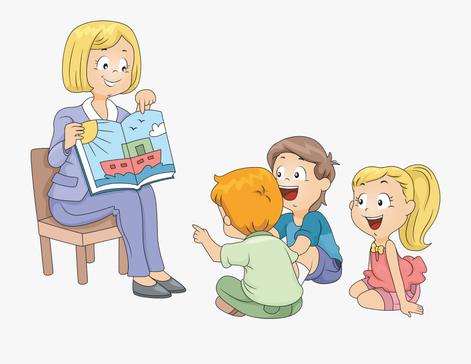 Sharing time clipart picture library download Storytime Clipart Mini Library - Listening To A Story ... picture library download