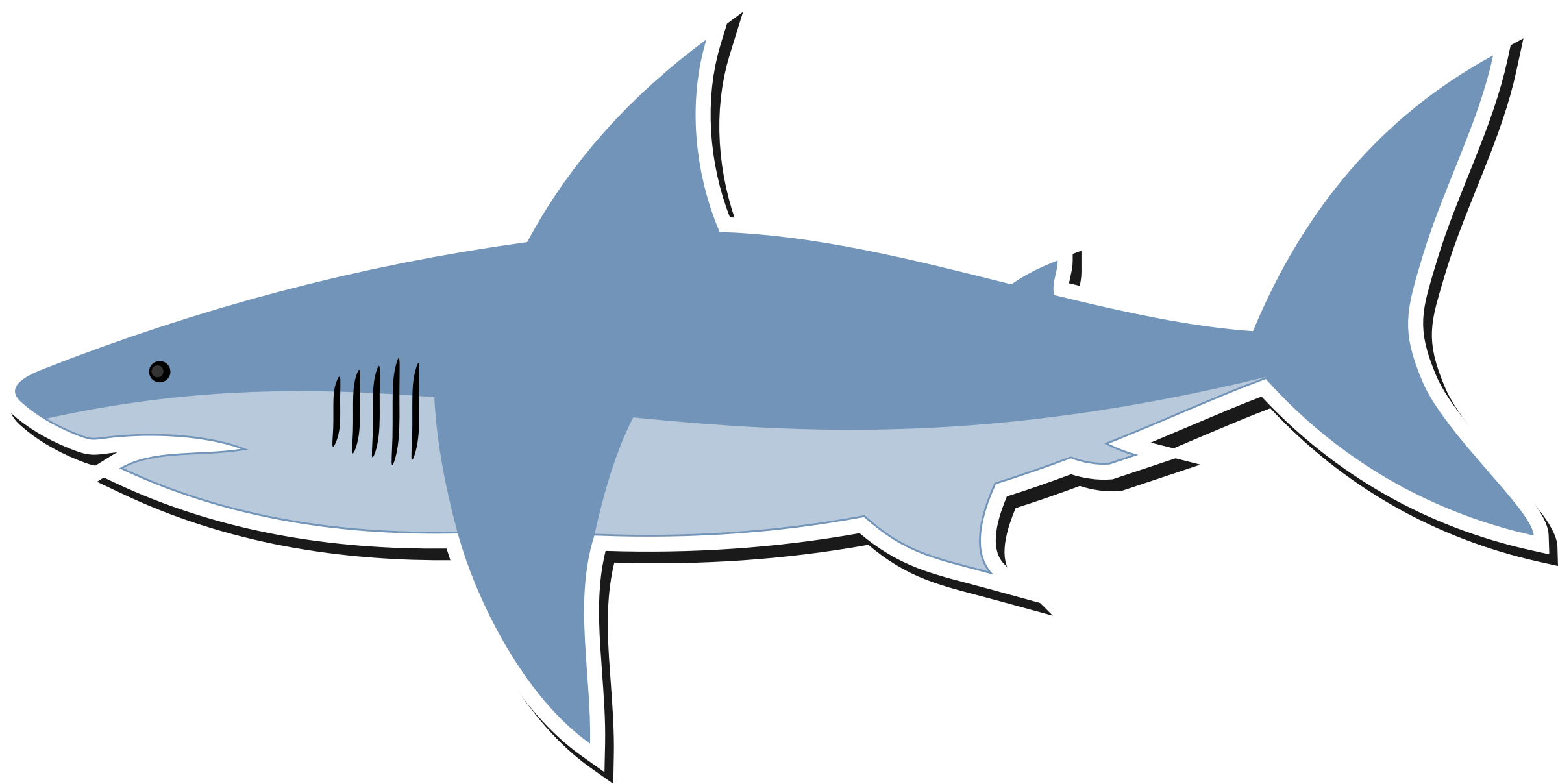 Shark cartoon clipart jpg royalty free Clipart cartoon shark png 2 - Cliparting.com jpg royalty free
