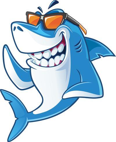 Shark clipart sunglasses image royalty free Shark with sunglasses - Download Free Vectors, Clipart ... image royalty free