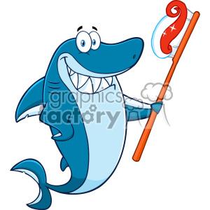 Shark clipart sunglasses clipart freeuse stock Clipart Smiling Blue Shark Cartoon With Sunglasses Surfing ... clipart freeuse stock