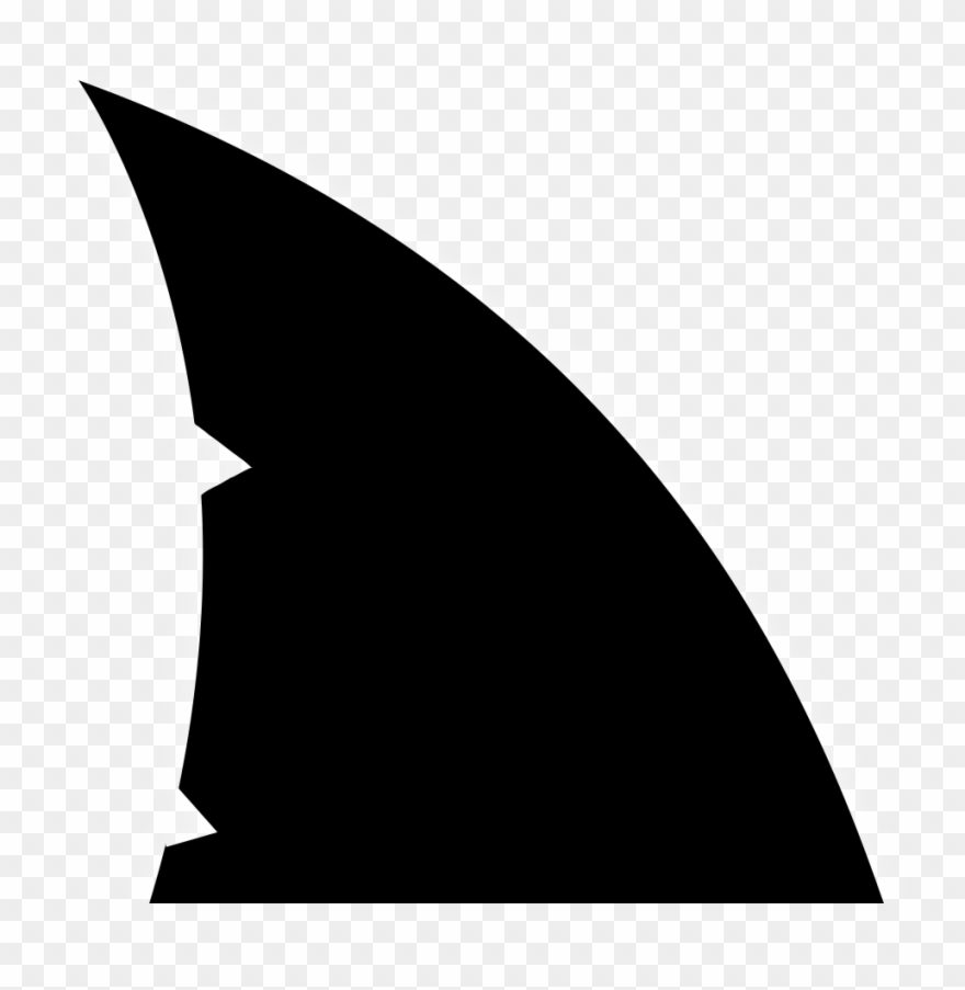 Shark fin clipart black and white clipart Shark Fin Homepage Clip Art - Shark Fin Silhouette Png ... clipart