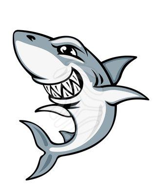 Free shark clipart cartoon picture freeuse library Clip art: Cartoon shark mascot | Clipart Panda - Free ... picture freeuse library