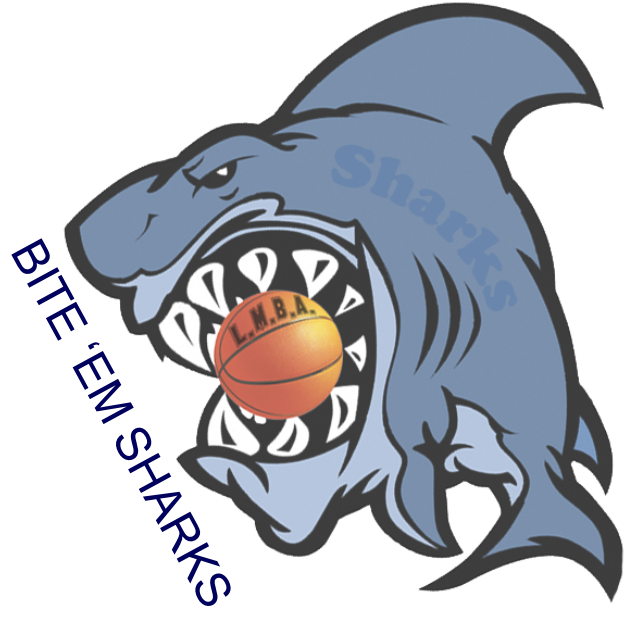 Shark playing baseball clipart svg free stock Home of the LMBA Sharks svg free stock