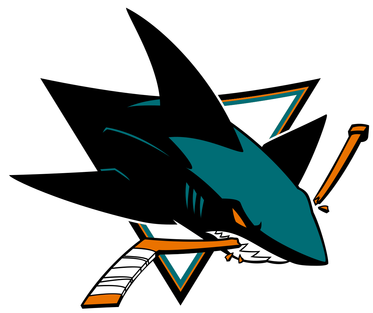 Shark playing baseball clipart picture transparent San Jose Sharks - Wikipedia picture transparent