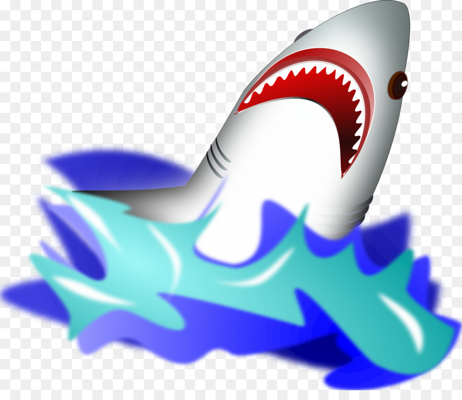 Shark tank clipart svg royalty free Great White Shark Background clipart - Graphics, Blue ... svg royalty free