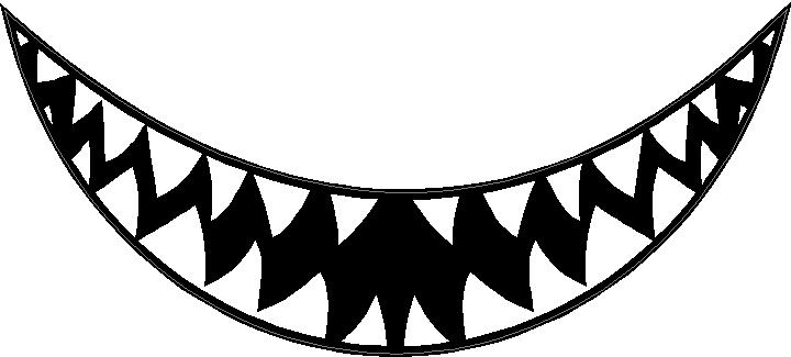 Shark teeth images clipart image royalty free stock Shark Tooth Clipart | Free download best Shark Tooth Clipart ... image royalty free stock