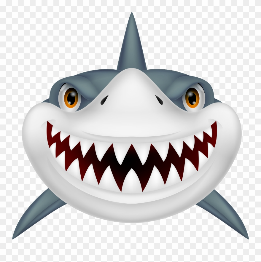 Sharks free clipart banner library download Shark Clip Art Black And White Free Clipart Image - Shark ... banner library download