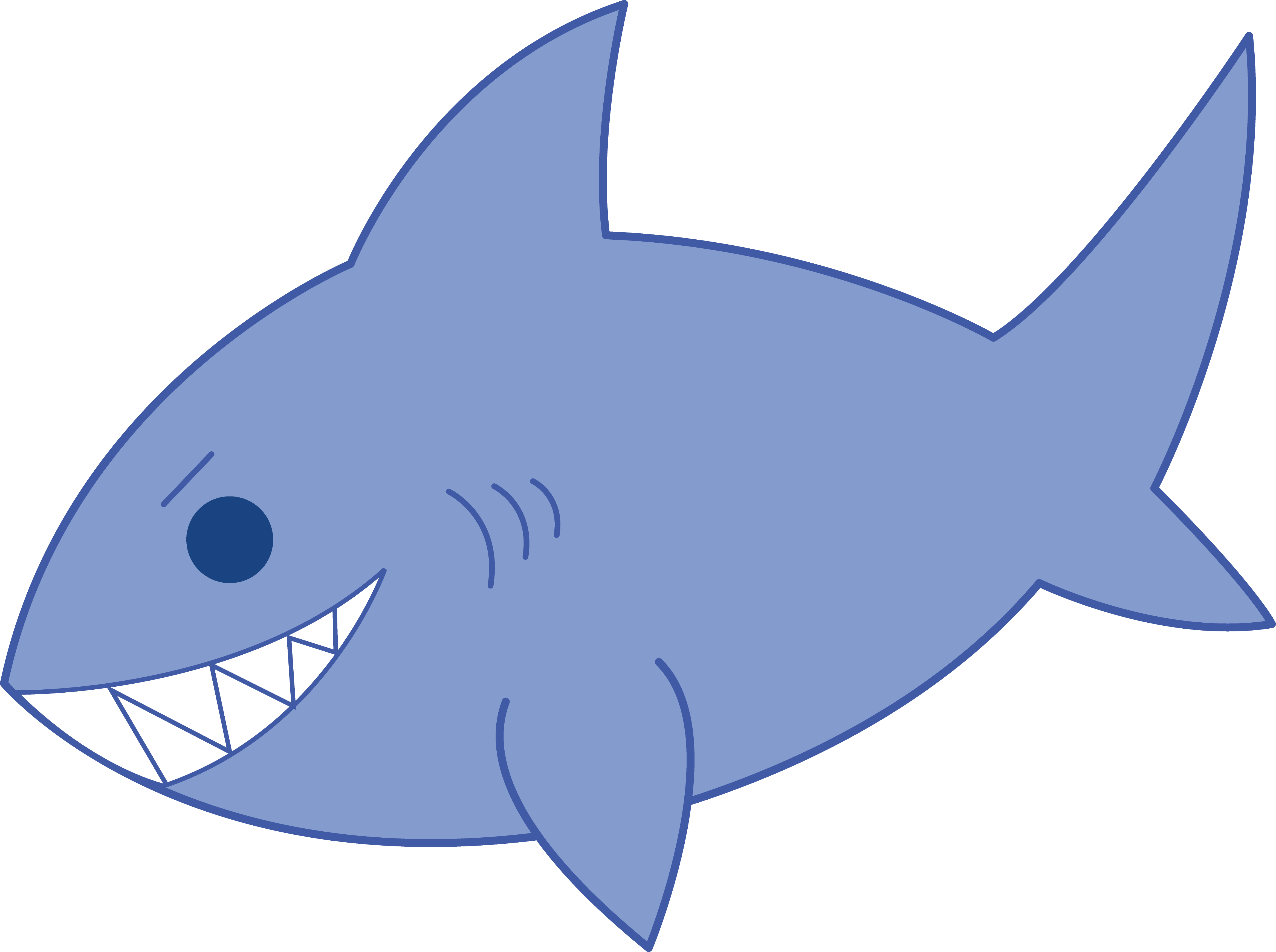 Sharl fish clipart picture freeuse Shark cute fish clipart the cliparts - ClipartPost picture freeuse