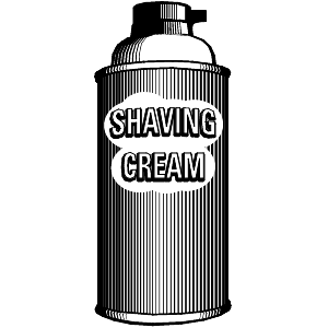 Shaving cream clipart vector free download Earth 2 Man Blog: What Chemicals are in My Shaving Cream? vector free download