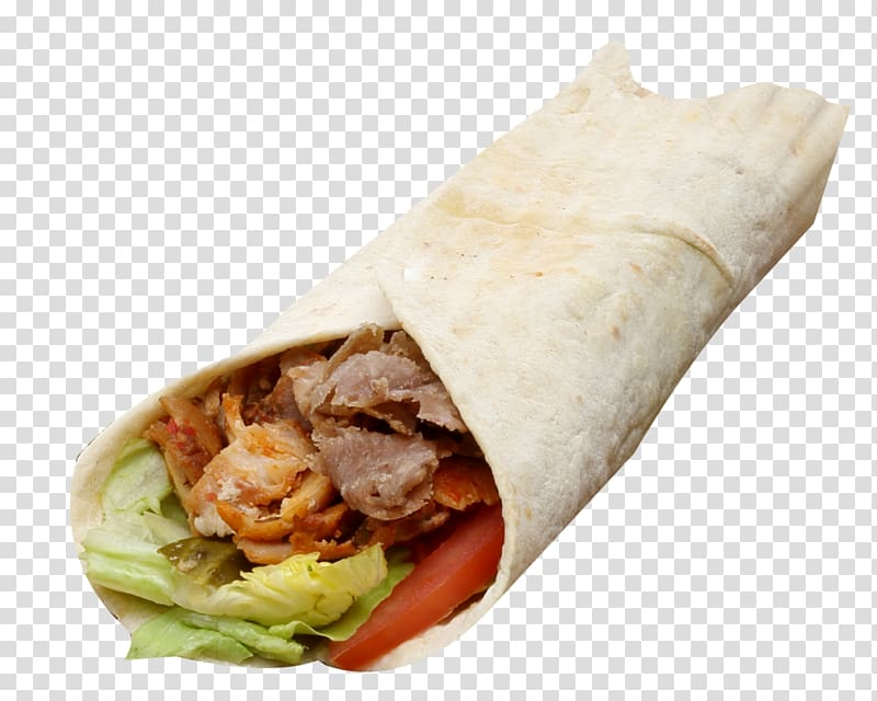 Shawarma sandwich clipart jpg black and white stock Shawarma Wrap Doner kebab Lavash, others transparent ... jpg black and white stock