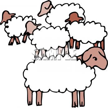 Sheep flock clipart clip art royalty free library Flock of sheep clipart 2 » Clipart Portal clip art royalty free library
