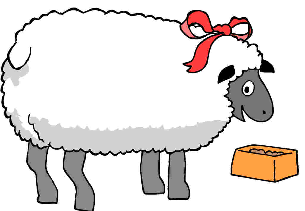 Sheep showing clipart clipart freeuse stock Show Lamb Clipart - Clipart Kid clipart freeuse stock