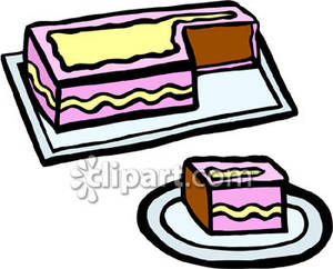 Sheet cake clipart image transparent download Sheet Cake Clipart - Clipart Kid image transparent download