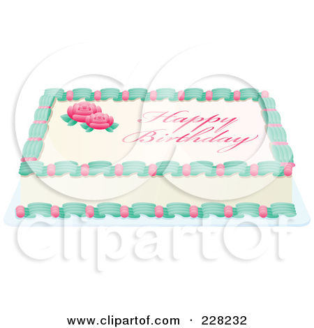Sheet cake clipart image freeuse stock Royalty-Free (RF) Sheet Cake Clipart, Illustrations, Vector ... image freeuse stock