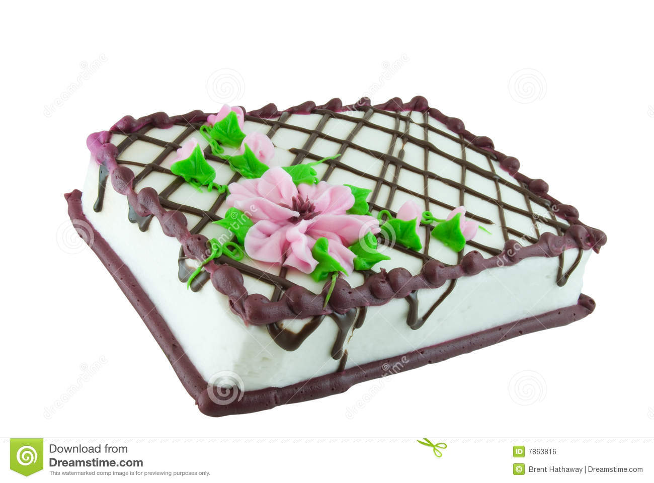 Sheet cake clipart vector freeuse stock Sheet Cake Royalty Free Stock Image - Image: 7863816 vector freeuse stock