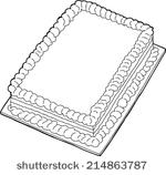 Sheet cake clipart freeuse stock Free Sheet Cake Clipart - Clipart Kid freeuse stock