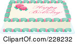 Sheet cake clipart clip art freeuse Royalty-Free (RF) Sheet Cake Clipart, Illustrations, Vector ... clip art freeuse