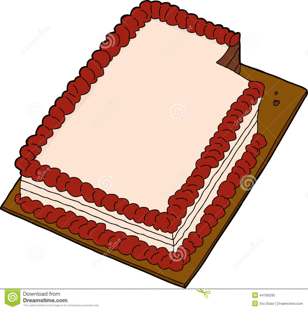 Sheet cake clipart jpg royalty free library Sheet Cake Clipart - Clipart Kid jpg royalty free library