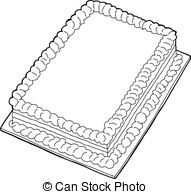 Sheet cake clipart graphic freeuse Sheet cake clipart - ClipartFest graphic freeuse