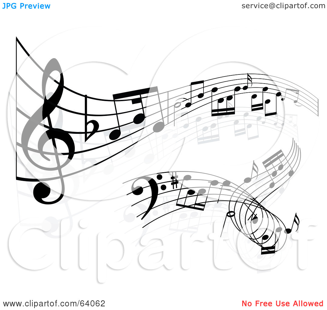 Sheet music clipart free clip art royalty free Royalty-Free (RF) Clipart Illustration of a Digital Collage Of Two ... clip art royalty free