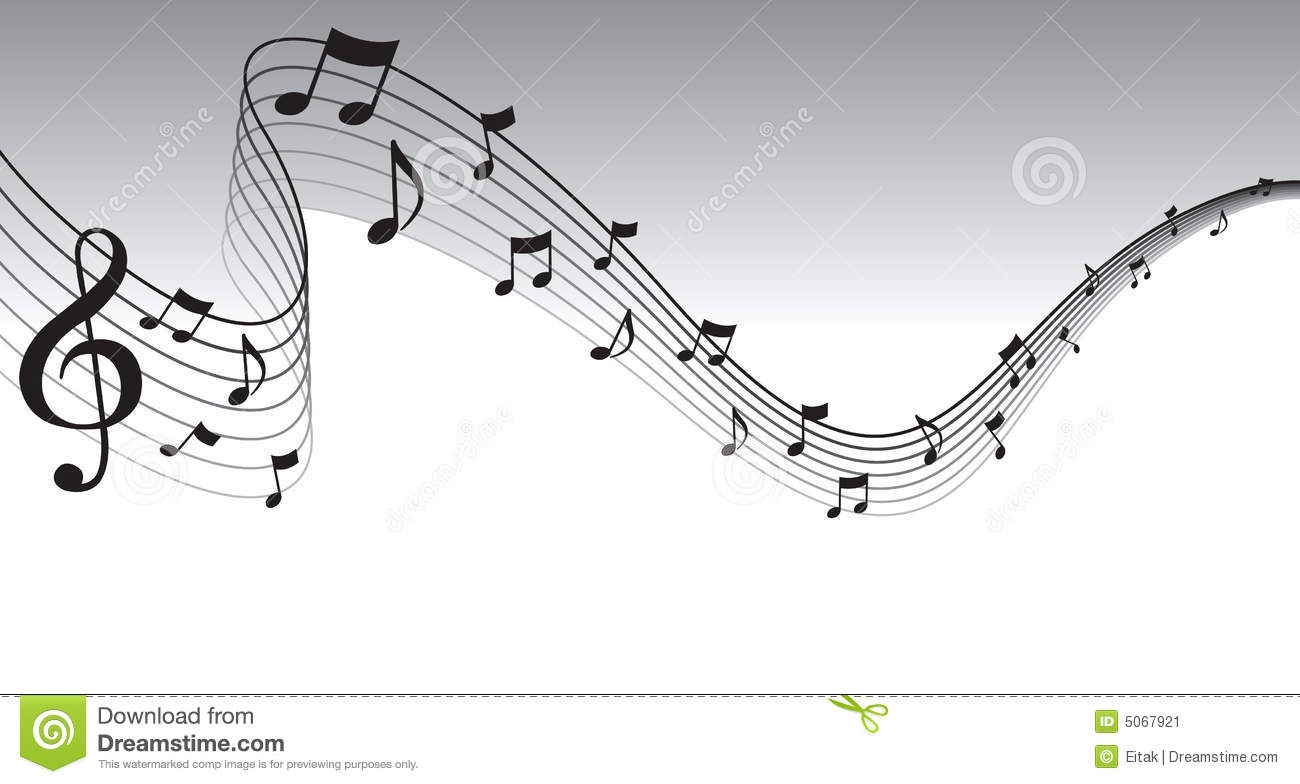 Sheet music clipart free graphic royalty free Black Sheet Music Page Border Stock Image - Image: 5067921 graphic royalty free