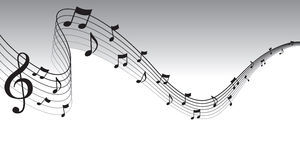 Sheet of music clipart black and white library Sheet Music Stock Photos, Images, & Pictures - 16,440 Images black and white library