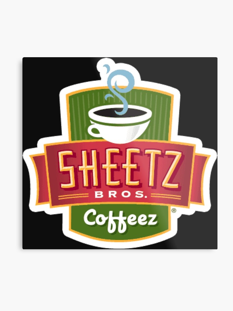 Sheetz logo clipart svg freeuse download Sheetz Brothers Coffee Logo | Metal Print svg freeuse download