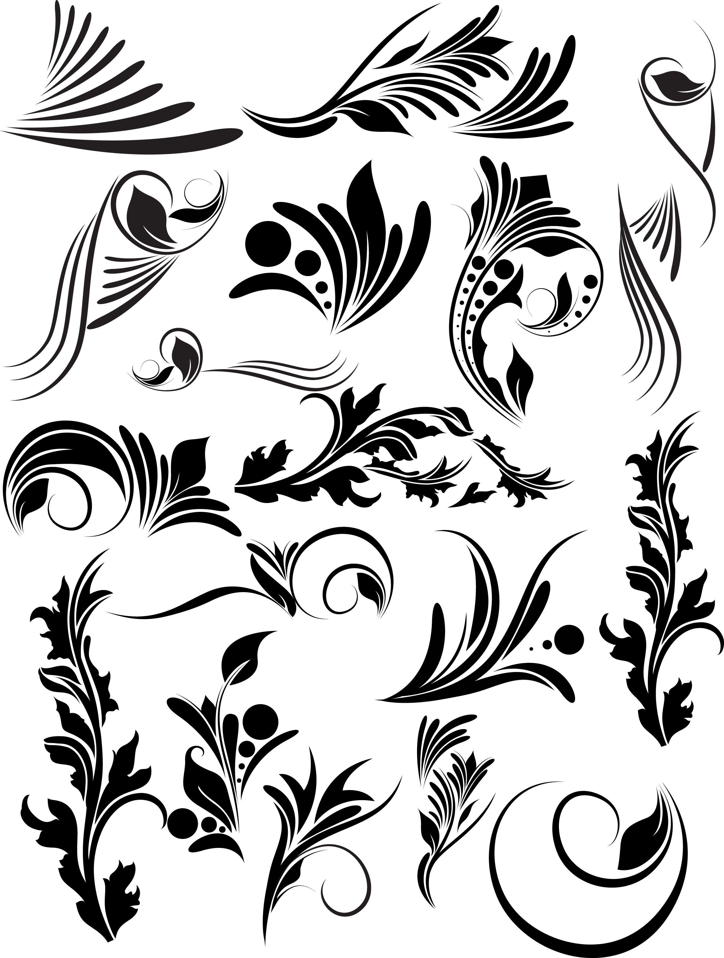 Shell pattern clipart victorian clip art freeuse library victorian vector clip art | Design: Vector, Silhouette, Line ... clip art freeuse library