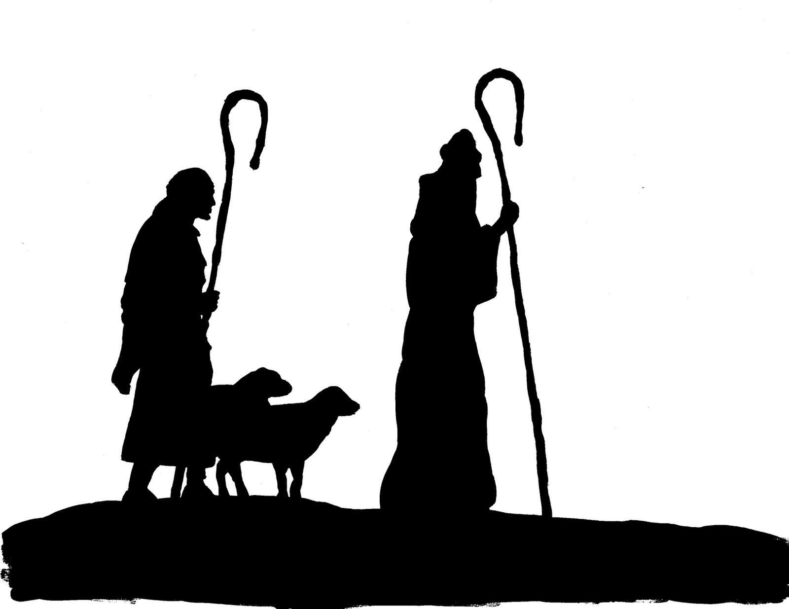 Shepherd silhouette clipart vector 40 Awesome shepherd silhouette clip art | yos | Nativity ... vector