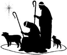 Shepherd silhouette clipart image royalty free library Christmas Shepherd Clipart | Free download best Christmas ... image royalty free library