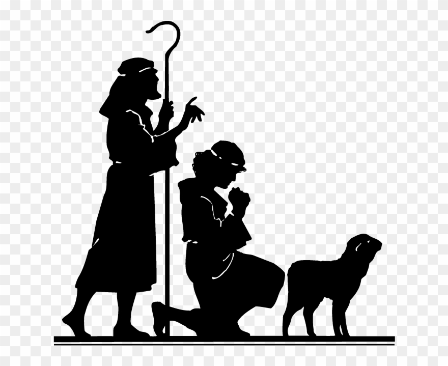 Shepherd silhouette clipart png Here Is A Collection Of Research Materials For Christmas ... png