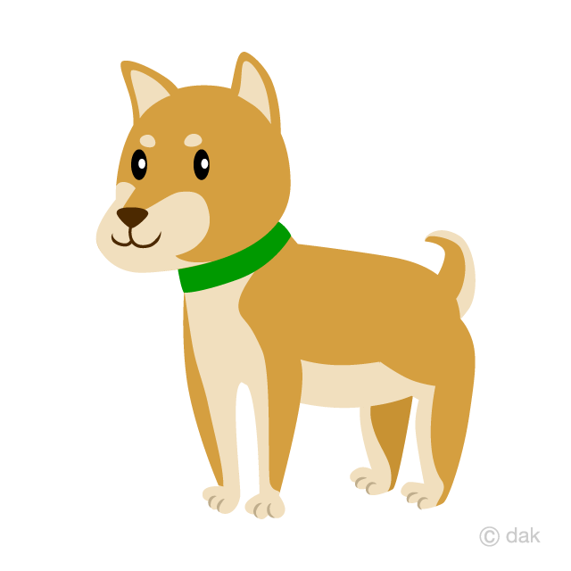 Shepherd sitting on a hill side clipart vector free download Shiba Inu Clipart Free Picture|Illustoon vector free download