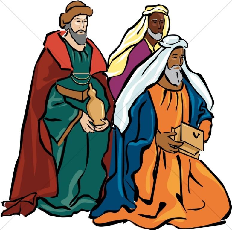 Shepherds nativity clipart banner Magi Clipart | Nativity Clipart banner