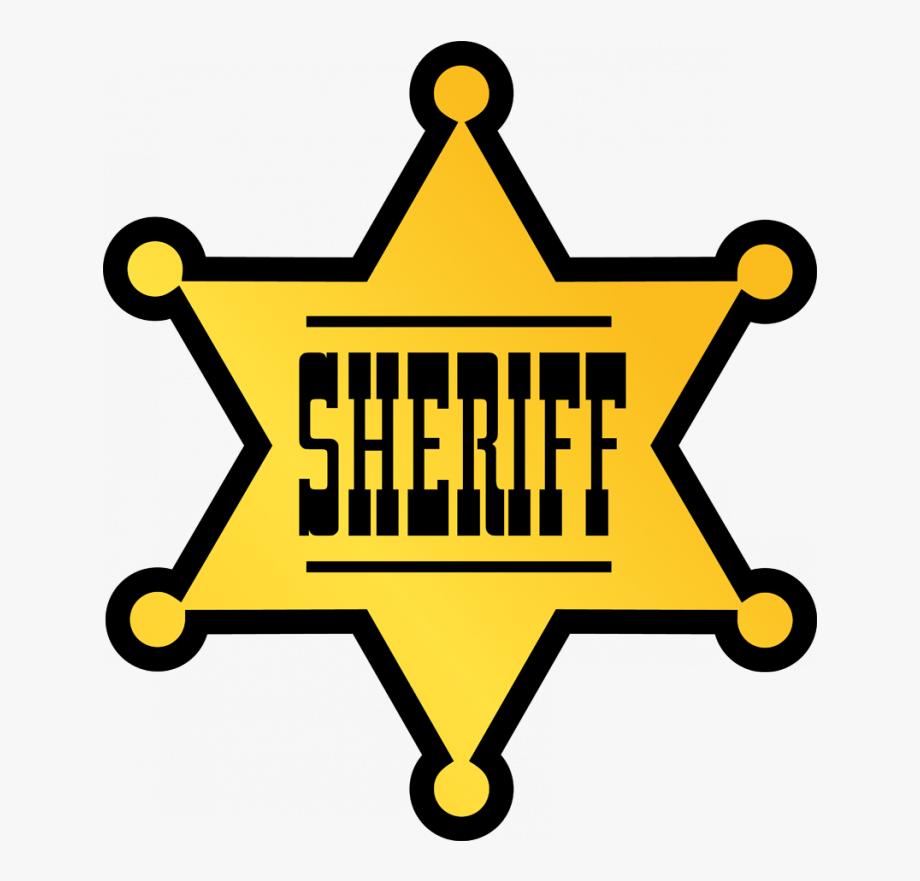 Sheriff badge clipart transparent download Cowboy Clipart Sheriff Badge - Police Officer Badge Clipart ... transparent download