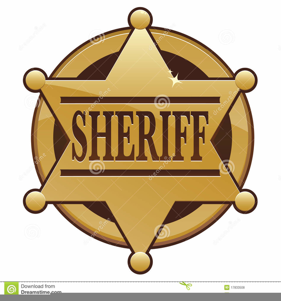 Sheriff badge clipart banner free library Sheriff Badges Clipart | Free Images at Clker.com - vector ... banner free library