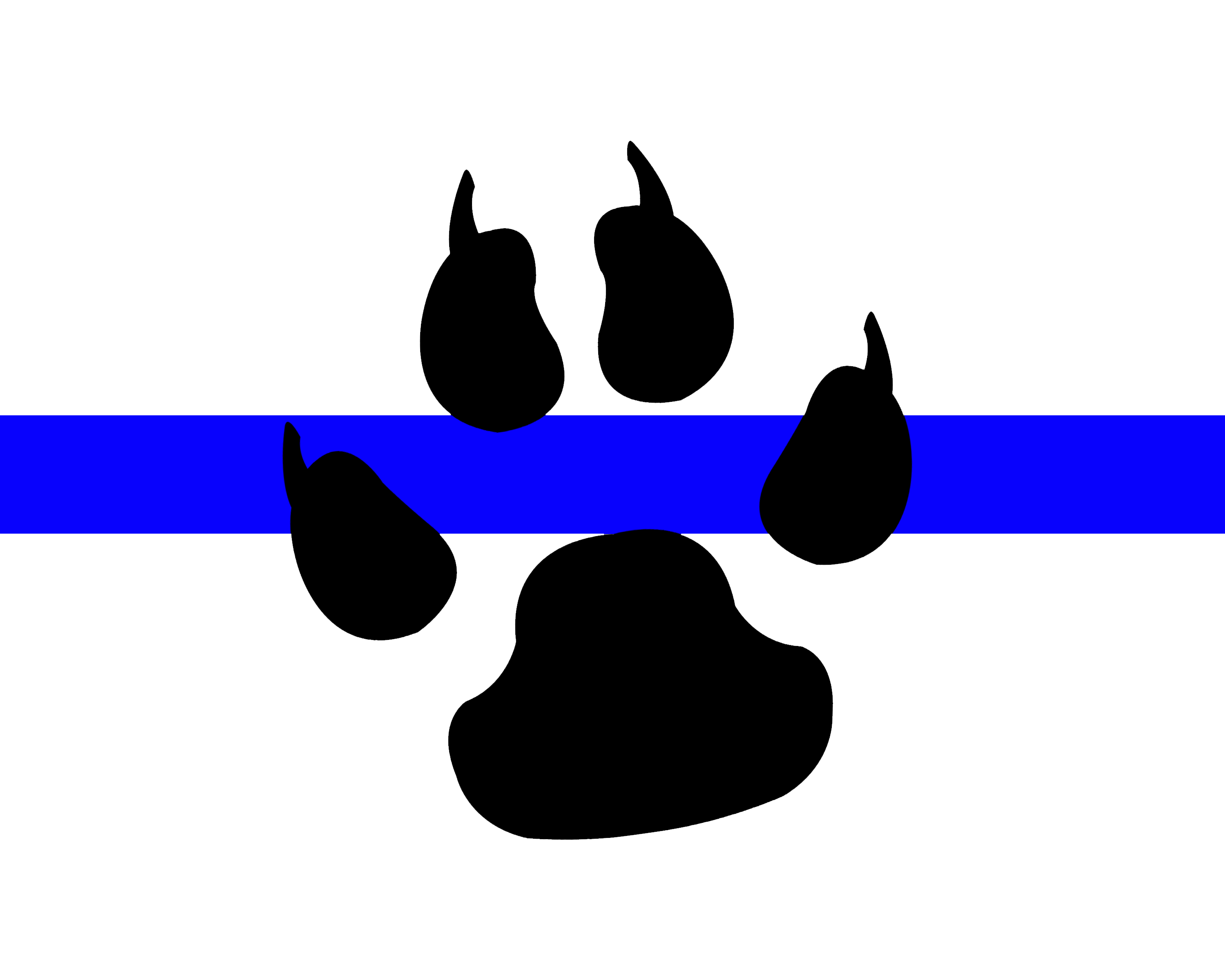 Sheriff k9 outline clipart clip free Blue Line K9 | Military/Police K-9 Art | Police wife life ... clip free