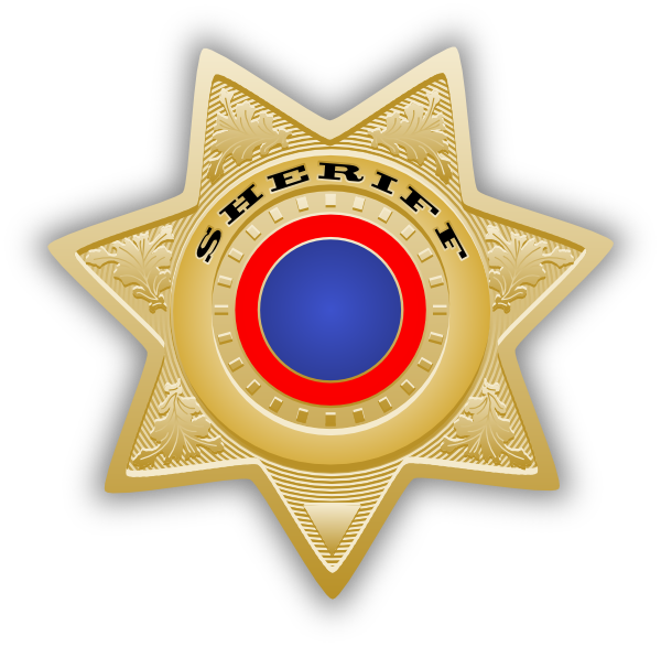 Sherriff star clipart banner transparent stock Sheriff Star Clip Art at Clker.com - vector clip art online, royalty ... banner transparent stock