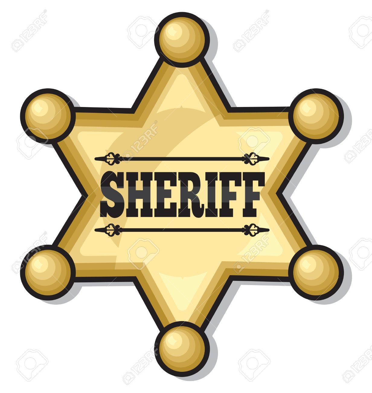 Sheriff star clipart free vector download Sheriff Badge Clipart | Free download best Sheriff Badge ... vector download