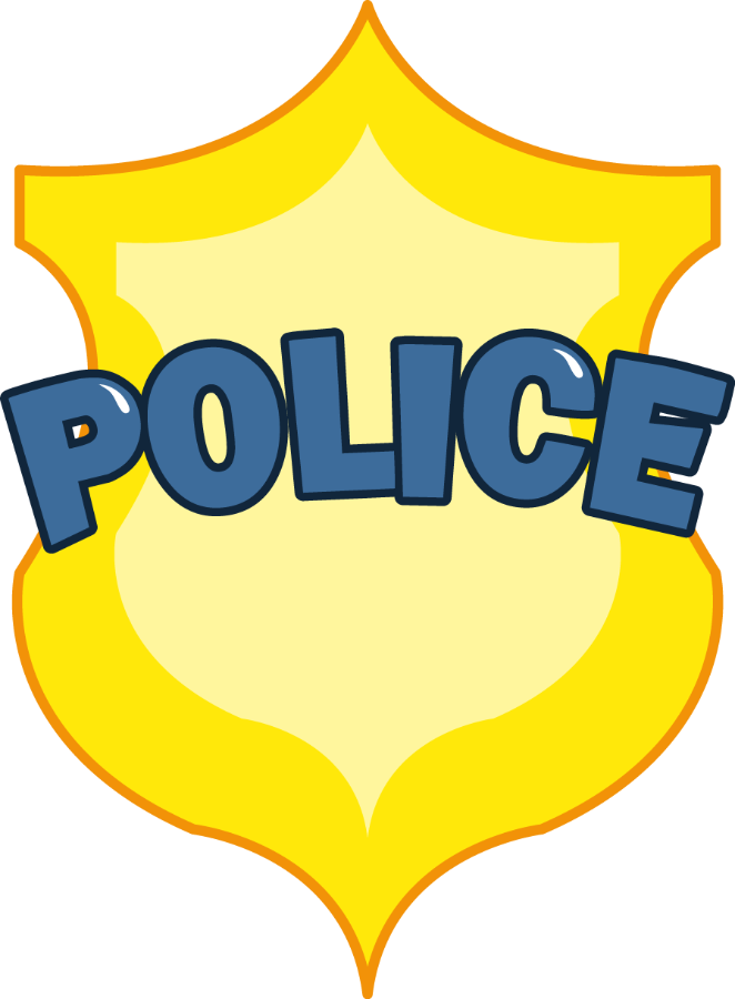 Sheriff star shape clipart svg royalty free download Cartoon Police Badge Group (71+) svg royalty free download