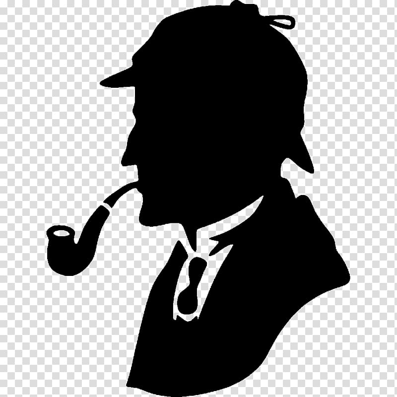 Sherlock clipart black and white stock His Last Bow Sherlock Holmes: The Complete Collection (Book ... black and white stock